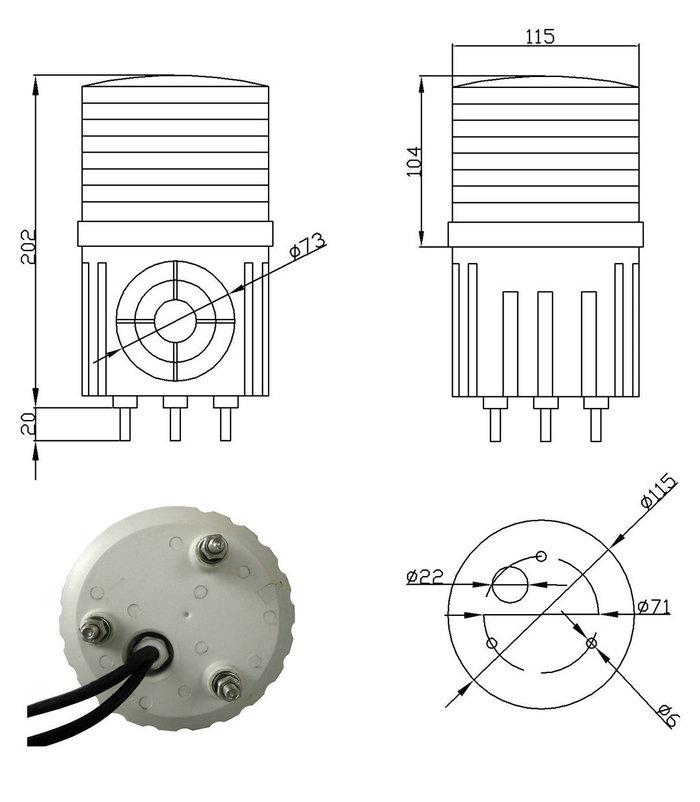 Industrial Warning Light Ma Safety Signal Co Ltd
